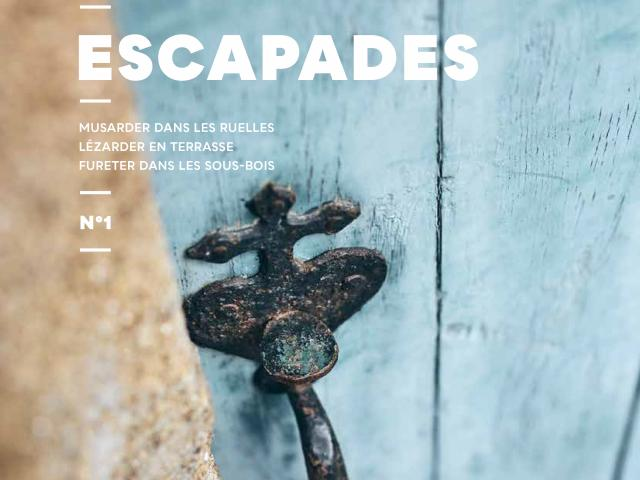 Couverture magazine Escapades 1
