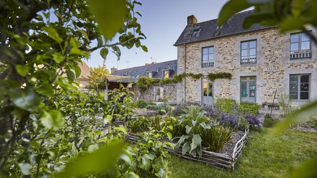 Saint-Aubin-du-Cormier - Le jardin médiéval