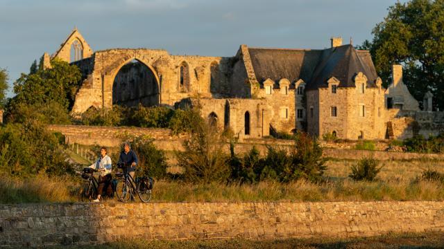 Abbaye de Beauport_Paimpol_vélo sur l'EV4
