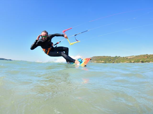 Kite-surf - Saint-Michel-en-Grèves