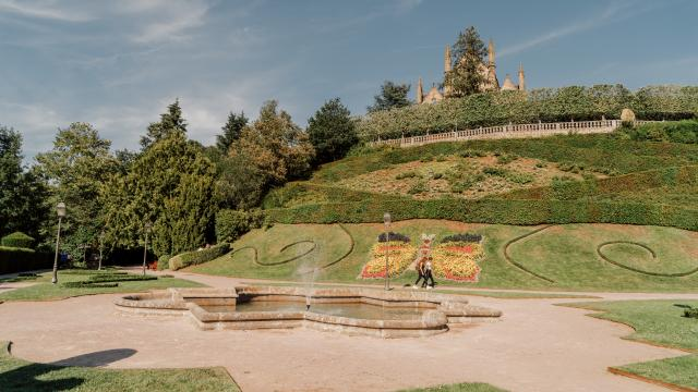 Fougères - Jardin du Nançon
