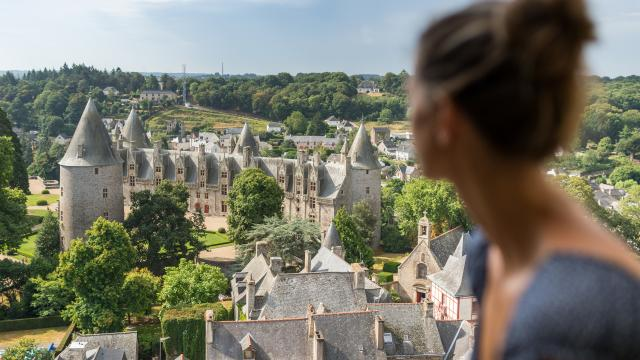 Josselin - Vue sur le château