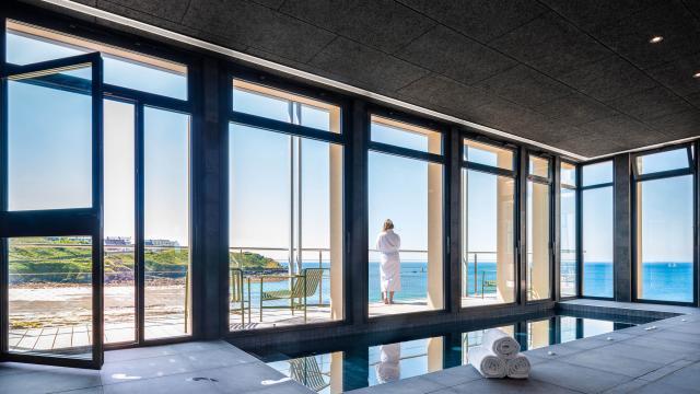 Sainte-Barbe Hôtel et spa - Le Conquet - spa sur sur mer
