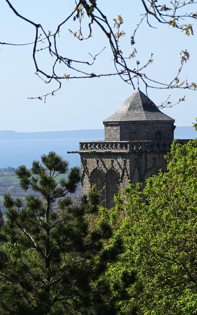 Locronan - Vue sur la baie de Douarnenez
