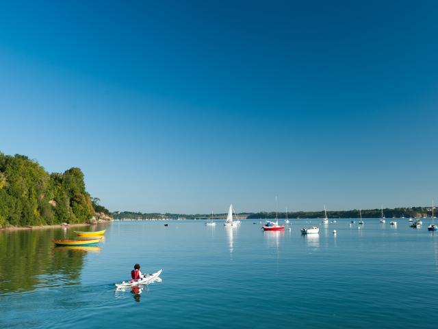 Langrolay-sur-Rance - Kayak sur la Rance