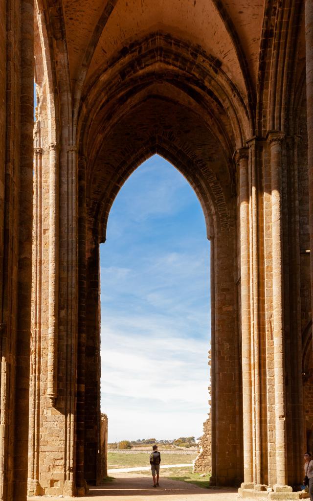 Pointe Saint-Mathieur - Les ruines de l'abbaye