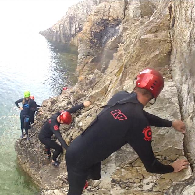 Presqu'île De Crozon - Coasteering - Escalade