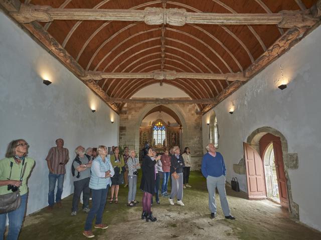 Locmalo_Visite guidée, chapelle Kerlenat