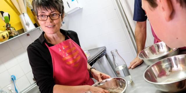 Bénodet - experiencia bretona - Ateliers crêpes de Véro