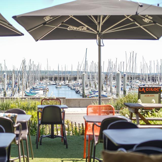 Vue sur la marina - La Coloc' à Brest