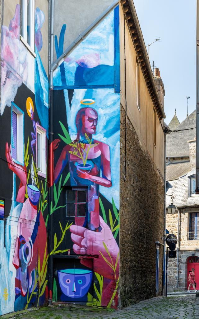 Saint-Brieuc - Street art - Place au lin