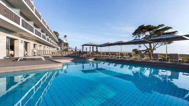 Castel Clara Thalasso & Spa - Belle-île-en-mer - piscine extérieure