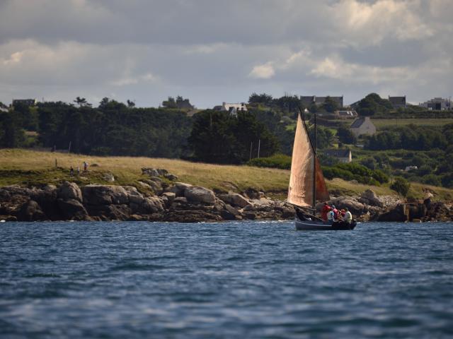 Karreg Hir - voilier de Bretagne - Plouguerneau