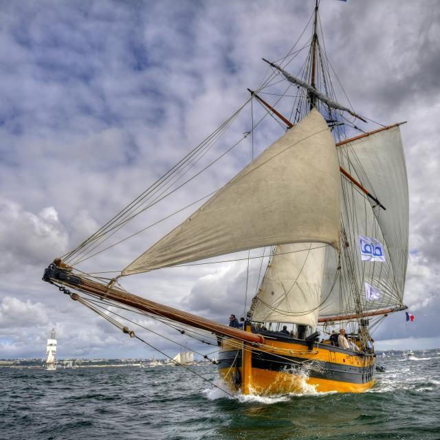 Saint Malo - Le Renard - Voilier de Bretagne