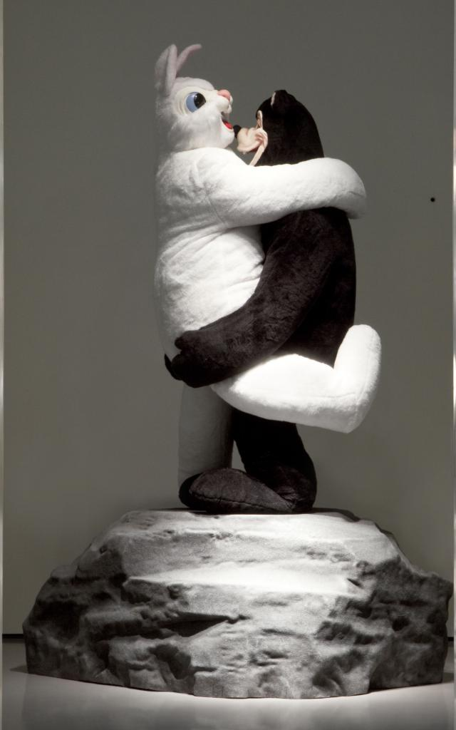 Pinault Collection - Paul Mccarthy - Bear and Rabbit on a Rock, 1992 - Palazzo Grassi Spa