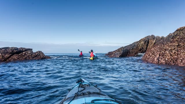 Tour de l'île de Groix en kayak