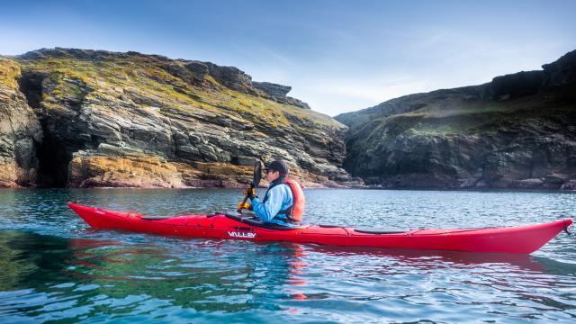 Tour de Groix en kayak
