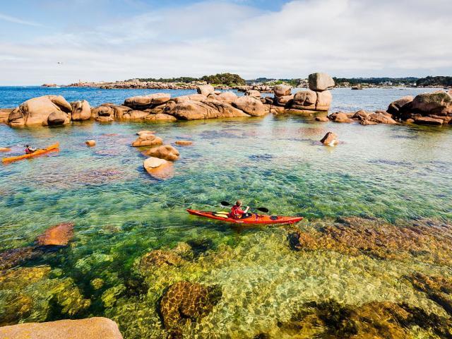 Tregastel - Kayak à L'île Renote