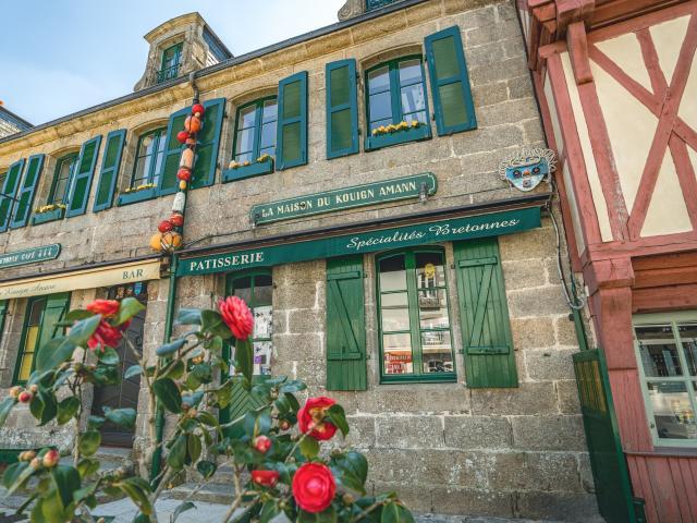 La Ville Close : Place Saint-Guénolé