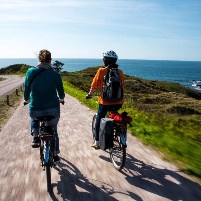 Jusqu'au Cap Fréhel en vélo électrique