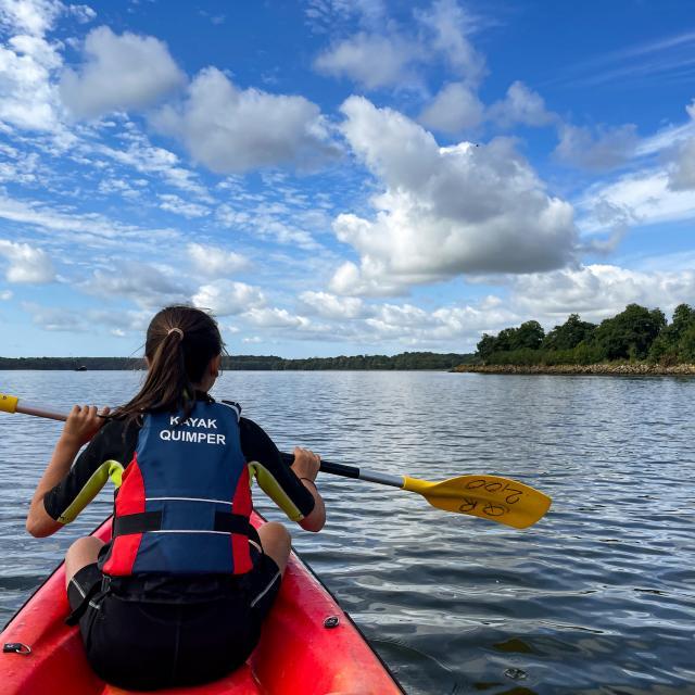 Kayak, el río Odet