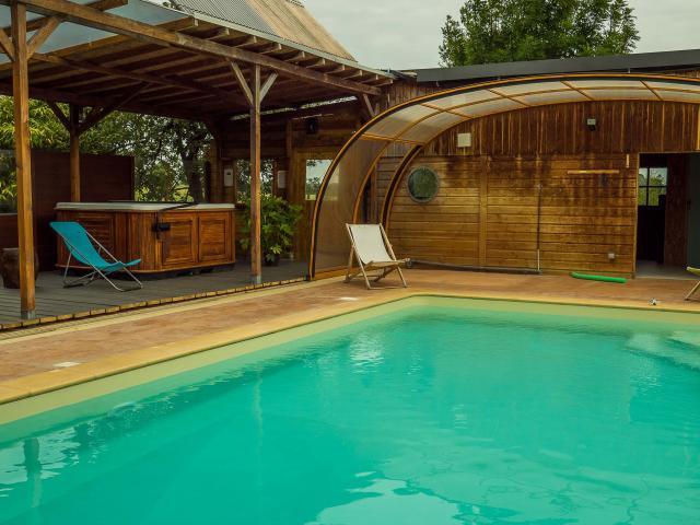 Gîte Ty Kern - Longaulnay - piscine chauffée