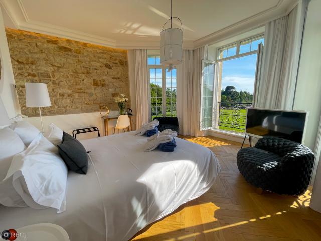 Les Garennes Hôtel & spa Bénodet - chambre vue mer