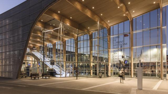 La nouvelle gare de Lorient
